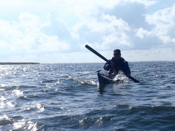 Seekajak vor Hiddensee