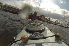 Grönlandpaddel Paddeltechnik Bogenschlag