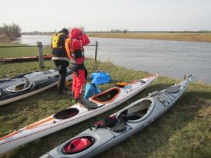Start Aller Hochwasser Rallye