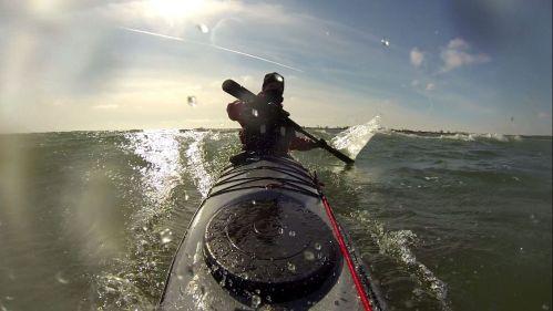 Fehmarn Wellen Seekajak Surf